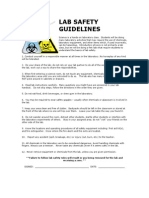 Lab Safety Guidelines