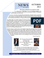 October 2013 UC Newsletter