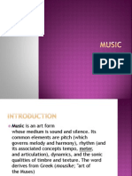 MUSIC English Presentation