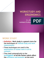 Workstudy and Ergonomics