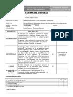 SESION DE TUTORÍA - Convivencia escolar