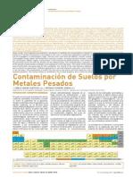Contaminación de Suelos Metales Pesados
