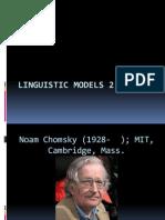 Linguistic Models 2