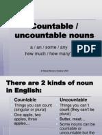 Countable Uncountable