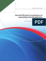 Guía para proyectos interdisciplinarios