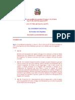Ley 688-77, Modificación de hipoteca de naves marítimas