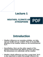 Weather, Climate and Atmosphere-lecture 1