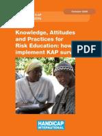 KAPRiskEducation 2009 Book