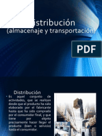 Distribución (almacenaje y transportación)