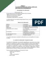 TEMA 4 LA CONDUCTA BÚSQUEDA DE AYUDA ANTE LOS SÍNTOMAS