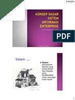 01 Introduction - Sistem Informasi Enterprise