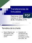 Transferencias de Inmuebles. Regímenes informativos y tramites en AFIP