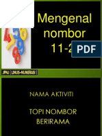 Mengenal No 11 -20