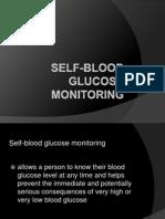 Self Blood Glucose