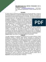 EFECTIVIDAD DE LA IMPLEMENTACIÓN DEL MÉTODO PROBLÉMICO EN EL APRENDIZAJE DE LAS CIENCIAS NATURALE1