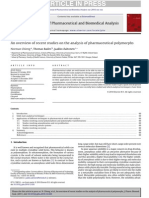 An Overview of Recent Studies on the Analysis of Pharmaceutical Polymorph