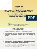 Role of Insurance Agent