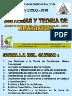 Clase 1 Teoria Decisiones 2010