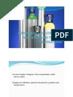 Condiciones de Los Gases Empleados en Terapia Respiratoria