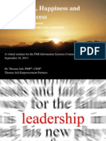 Leadership Happiness Success - PMI Webinar Sept 2013-Updated-0EE8