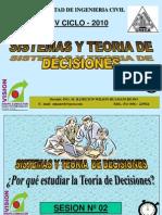 Clase 2 Teoria Decisiones 2010