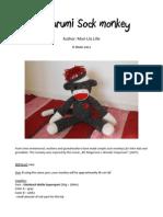 Sock Monkey - Free Amigurumi Pattern