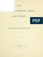 Lawyer's Official Oath and Office