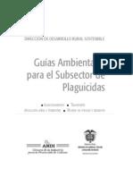 43 Guias Ambientales Para El Subsector Plaguicidas