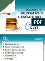 LOS AGENTES DEL DESARROLLO ECONÓMICO LOCAL (Es)