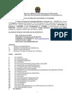 Edital de Pregao Eletronico 019 2012 Estagio