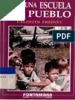 POR UNA ESCUELA DEL PUEBLO - CELESTIN FREINET (COMPLETO)  POR UNA ESCUELA DEL PUEBLO - CELESTIN FREINET (PDF COMPLETO)