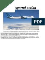Transportul aerian