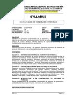 EE-354 ANALISIS DE SISTEMAS DE POTENCIA II.pdf