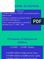 Childhood Blindness