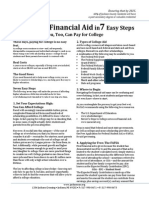 applying for fin aid in 7 easy steps
