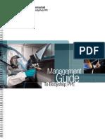Guía de Concienciación Equipos de Protección Individual para el taller (EPI) (Ingles)