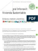 Manual de Vivienda Sustentable Infonavit