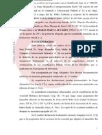 Enriquecimiento ilícito del ex juez Urso - Sobreseimiento