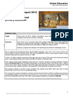 2013 mdg 2 progress report