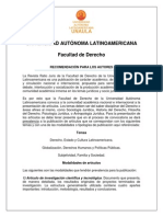 TÉRMINOS DE PUBLICACIÓN ESPAÑOL 2013