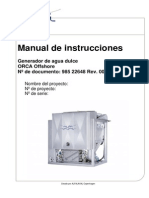 Manual de Instrucciones Orca Offshore