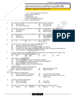 Gate Question Papers Download Architecture and Planning 2009
