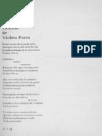Defensa de Violeta Parra-Nicanor Parra