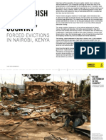 FORCED EVICTIONS IN NAIROBI, KENYA