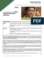 2013 mdg 6 progress report