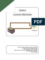 SCA - Tema 1 - La Electricidad