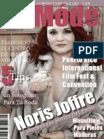 Le Móde TV Magazine - Noris Joffre