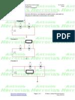 Medidas eléctricas en circuitos con lámparas- Ejercicio 05
