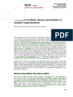 KENNY ET ALL - The Effect of Affect. Desire and Politics in Modern Organizations