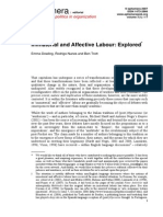 DOWLING ET AL - Immaterial and Affective Labour. Explored